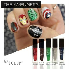 Avenger Nails! Which one is your favorite character?