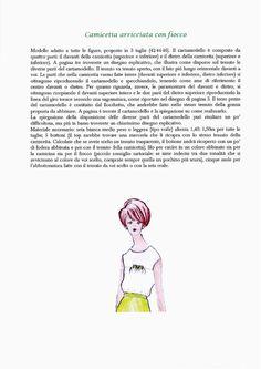 Camicetta Con Fiocco Copertina + Cartamodello