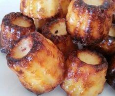 Mini cannelés bacon chèvre