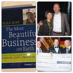 The man who received the highest bonus cheque. Talking abt the right company?It's background? Right business? And the products? Well... this is it! We are Forever ;)
