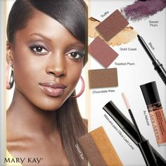 ❤BRONZED BEAUTY❤ MK gorgeous LOOK❤ www.marykay.com/LaShon