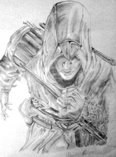 My Altair portrait <3 Assassin's creed