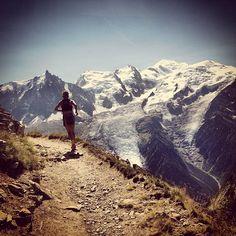 Emily Forsberg, Mont Blanc #TrailRunning #Skyrunning