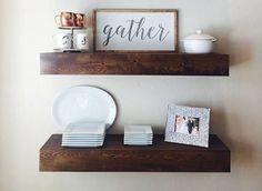 5 Versatile Tricks Floating Shelves Styling Frames Floating Shelf Hallway Picture Ledge Staggered F Floating Shelves Floating Shelves Diy Floating Shelf Decor