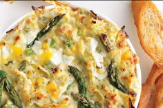 Spring Vegetable and Goat Cheese Dip
