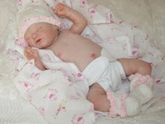 Reborn baby girl LiL Treasures,Sold Out Limited Ed of 800 Worldwide Laura Eagles