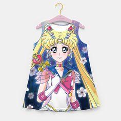Super Sailor Moon Girl's Summer Dress