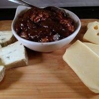 Zelfgemaakte vijgenjam met uien en walnoten : Recepten van Domy