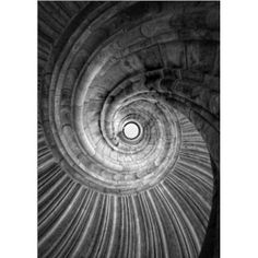 photo poster Spiral staircase in size: 50 x 70 cm by F. Art-FF77