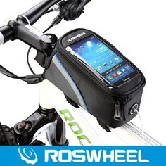 US $7.50 - ROSWHEEL Accesorios Bicicleta Waterproof Bicycle Top Tube Cycling Bag Mountain MTB Bike Touch Screen Phone Cases Pouch For 4/5S - Aliexpress: Click to find more --> http://s.click.aliexpress.com/e/UByNbIA2J