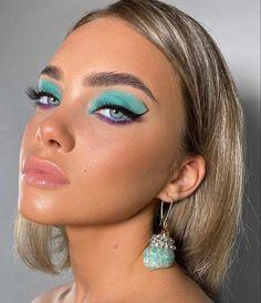 Eye Makeup Art, Kiss Makeup, Glam Makeup, Pretty Makeup, Love Makeup, Simple Makeup, Eyeshadow Makeup, Makeup Inspo, Makeup Inspiration