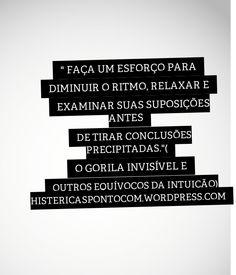 #histericaspontocom #books #livro #editorarocco #ogorilainvisivel