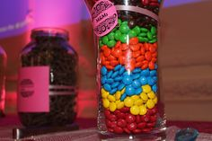 "M&M""s - candy table #candytable"