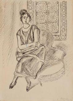 Henri Matisse - Henriette in moucharabieh