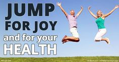 Jumping has an amazing number of health benefits, from improving your lymphatic flow and immune system, to increased bone density and better balance. http://fitness.mercola.com/sites/fitness/archive/2016/10/07/jumping-benefits.aspx