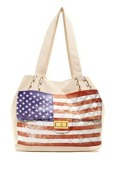 Something Flag US Tote by Thursday Friday on @HauteLook