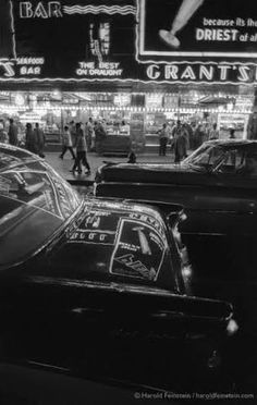 Image result for new york night times square 1955