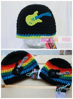 Toddler Beanie by RockNWool on Etsy, $18.00