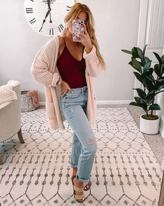 Cute Simple Outfits, Classy Summer Outfits, Basic Outfits, Mom Outfits, College Outfits, Everyday Outfits, Cute Outfits, Fashion Outfits, Casual Spring Outfits