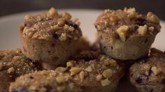 Muffins are tasty but usually bad for you. If you've been looking for a healthier recipefor banana muffins, look no further! In this episode of Eating by Heart, Colombe shows you how to make a heart healthy muffin recipe using bananas, cherries, walnuts and dark chocolate. These muffins are packed with heart healthy nutrients but they also taste delicious. First Colombe mashes some ripe bananas. Using bananas adds richness while eliminating the need for extra fats lik...
