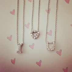 valentine day  ts roberto coin and diamond heart necklaces