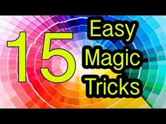 Easy Magic Tricks 15 tricks REVEALED / EXPLAINED - YouTube
