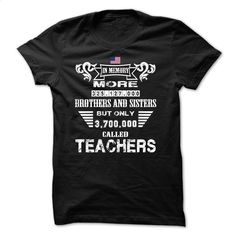 Proud A Teacher T Shirts, Hoodies, Sweatshirts - #hoodies womens #girl hoodies. BUY NOW => https://www.sunfrog.com/LifeStyle/Proud-A-Teacher.html?id=60505