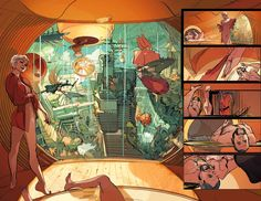 Greg Tocchini: LOW - Remender & Tocchini - July 2014