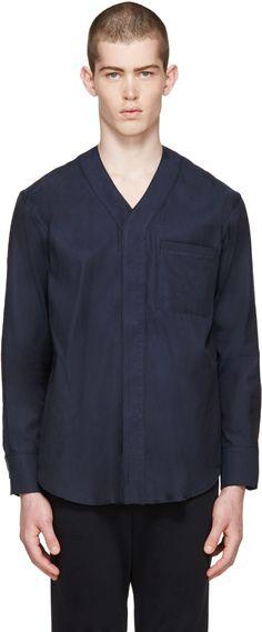Undecorated Man - Navy Team Shirt
