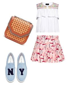 """""""🌝"""" by katrinastarring on Polyvore featuring RED Valentino, Joshua's, Saloni and STELLA McCARTNEY"""
