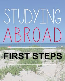 Study Abroad First Steps