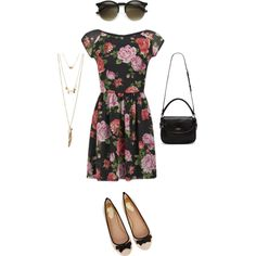 Untitled #41 by its-stee-time on Polyvore featuring Love, Oasis, Kate Spade and Charlotte Russe