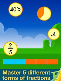 Motion Math HD ® App--Fractions!