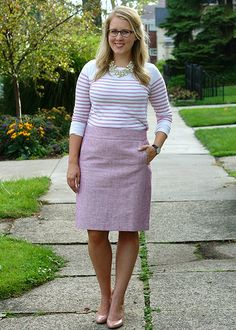 Pink tweed.. absolutely adorable!