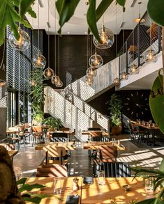 The design of new restaurant @black.pepper.maroc by @gregoiremaisondieu is as much about the play of light and shadow as it is about the materials used. I'd love to settle in for a very long lunch here and watch how the effect changes as the sun moves across the sky during the day. Magical ✨ Via @hospitalitydesign The Loft Restaurant, Outdoor Restaurant, Restaurant Interior Design, Best Interior Design, Pho Restaurant, Lounge Design, Villa Design, Cafe Design, Peppers Restaurant