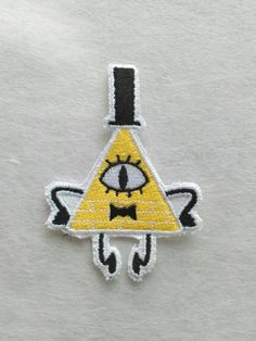 PICK ONE Bill Cipher Sew On Machine by JuliefooStitches on Etsy