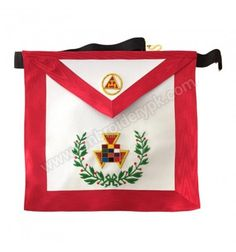Royal Arch Past High Priest Hand Embroidered Masonic Apron High Priest, Aprons, Sash, Apron