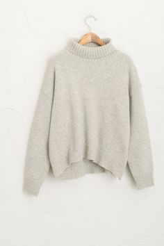 Olive - Ribbed Roll Neck Knit Jumper, Grey, £55.00 (http://www.oliveclothing.com/p-oliveunique-20151103-069-grey-ribbed-roll-neck-knit-jumper-grey)