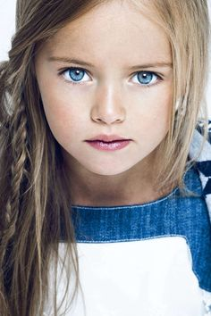 Kristina Pimenova,Russia, is considered to be the most beautiful child in the world