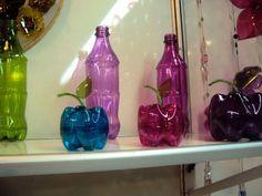 Criatividade com garrafas pet