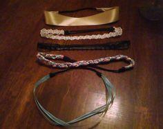 DIY Headwraps/headbands..super easy, way cute :)
