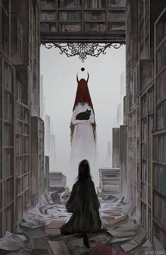 """もの久保:画集発売中 on Twitter: """"『Megalophilia』の話5 異界の章:風景画や巨大生物メインでない作品など。(大きいやつらも少しいます。)続き物から引っ張ってきた絵が十枚ほど入っています。… """" Arte Horror, Horror Art, Arte Obscura, Art Et Illustration, Dark Art Illustrations, Creepy Art, Dark Fantasy Art, Aesthetic Art, Art Inspo"""