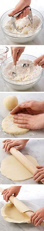 Learn how to make pie crust from scratch using these step-by-step instructions from Taste of Home.