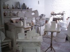 Barbara Hepworth's studio