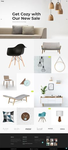 Fully flexible and easily customizable, Cozy WordPress theme is specifically designed to help you quickly launch your interior design website or architecture portfolio.
