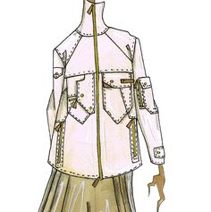 J.Larkowsky Illustration, Ralph Lauren Spring 2009