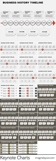 Gantt Keynote charts templates Keynote Charts Pinterest - charts templates