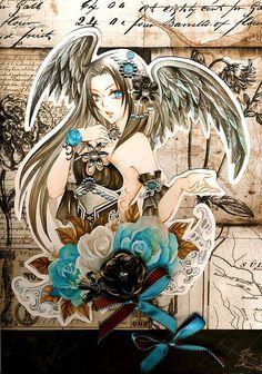 Hot Anime Illustrations by Nina Listyani http://www.cruzine.com/2013/08/21/hot-anime-illustrations-nina-listyani/