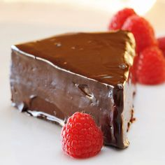 JULES FOOD...: Flourless Chocolate Cake with Easy Ganache