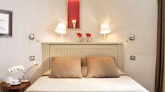 Hôtel de Banville, Paris 17 - Chambre supérieure   Superior room: Cerise